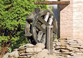 Vintage water mill wheel Royalty Free Stock Photos