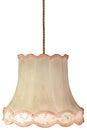 Vintage Weathered Lampshade Wi...