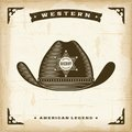 Vintage Western Sheriff Hat Royalty Free Stock Photo