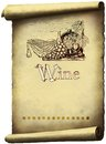 Vintage wine label Royalty Free Stock Photo