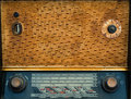 Vintage wireless radio background old s Royalty Free Stock Image