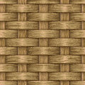 Vintage wooden basket Royalty Free Stock Photo