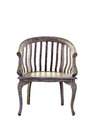 Vintage wooden chair isolated Royalty Free Stock Photo
