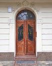 Vintage wooden door Stock Photos