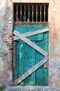 Vintage wooden door Royalty Free Stock Photo