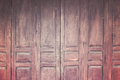 Vintage wooden folding door, retro style image
