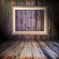 Vintage wooden interior Royalty Free Stock Photos