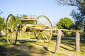 Vintage Wooden Wagon
