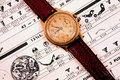 Vintage Wrist Watch Stock Photos