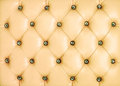 Vintage yellow leather background Royalty Free Stock Images