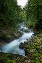 Vintgar Gorge In Slovenia Juli...