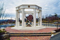 "Vinton roanoke county veterans monument va march ""high ground†the stately located on the grounds of the Royalty Free Stock Photo"