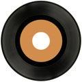 Vinyl Record Cutout Royalty Free Stock Photo