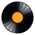 Vinyl record disc Royalty Free Stock Photo