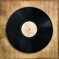 Vinyl Record, Vintage Background
