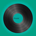 Vinyl vintage cover Royalty Free Stock Photos