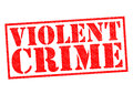 VIOLENT CRIME Royalty Free Stock Photo