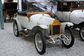 Violet bogey torpedo type a in the cité de l automobile national museum it is is located in mulhouse france and houses the Royalty Free Stock Photos