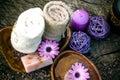 Violet Dayspa Nature Set