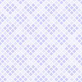 Violet diamond pattern with hearts. Seamless vector