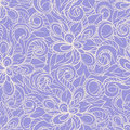 Violet floral pattern Royalty Free Stock Photo