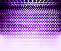Violet Hex Grid Abstract Background Royalty Free Stock Photos