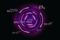 Violet infographics as head-up display