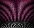 Violet Matrix Room Stock Images