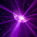 Violet party background Royalty Free Stock Images