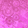 Violet retro background vector Stock Photography