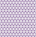 Violet seamless flower of life pattern - sacred geometry background - most magical pattern on the world Royalty Free Stock Photo