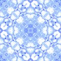 Violet seamless pattern. Astonishing delicate soap Royalty Free Stock Photo