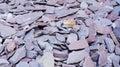 Violet Stones Background
