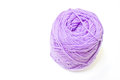 Violet yarn Royalty Free Stock Photo