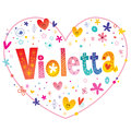Violetta girls name