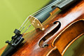 Violin detail Royalty Free Stock Images