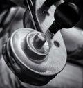 Violin details Royalty Free Stock Photo
