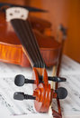 Violin and fiddle Royalty Free Stock Photo