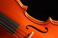 Violin instrument for classical music Royalty Free Stock Photos