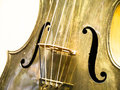 Violin old nice close up Royalty Free Stock Image