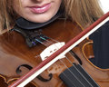 Violin Play Royalty Free Stock Photo