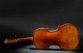 Violin rear view Royalty Free Stock Images