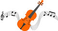 Violin and Stave