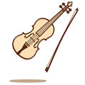 Violin vector Stock Images