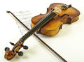 Violon Photos stock