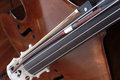 Violoncello detail of classical music Royalty Free Stock Photo