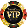 Vip banner for casino websites and other places Royalty Free Stock Photos