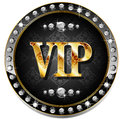 Vip banner for websites and other places Stock Images