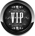 Vip banner for websites and other places Royalty Free Stock Images