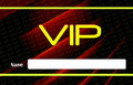 Vip card and concept design Royalty Free Stock Images